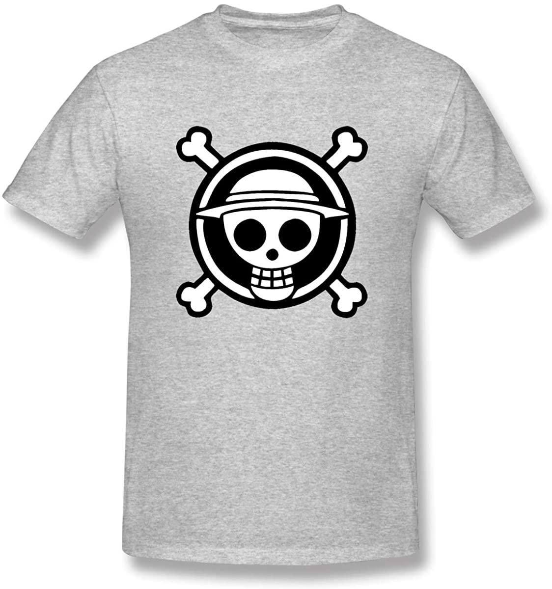 XIVEIER Design ONE Piece Logo Tee for Boyfriend Gray 3XL.