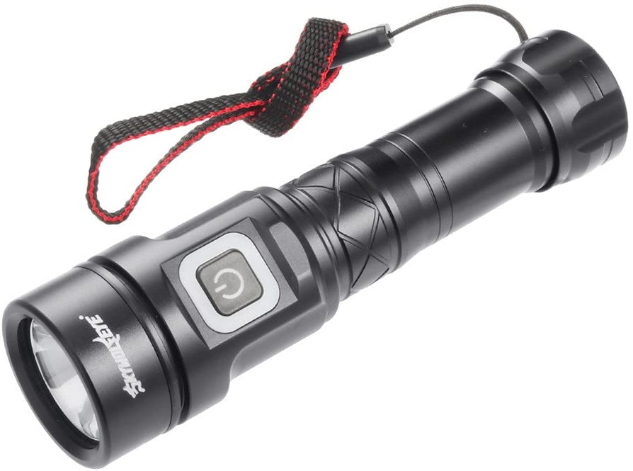 Delicate Aluminum alloy Body L2 Flashlight 1×26650 Battery Practical Press Switch 5 Modes Dimming Waterproof Torch.
