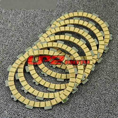 DE.SOUL Clutch Plate Discs for Kawasaki KLR250 KL250D 84-05 KZ200 A1/A2 78-79 Z200A1 77