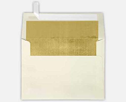 A7 Foil Lined Invitation Envelopes (5 1/4 x 7 1/4) (Pack of 1000)