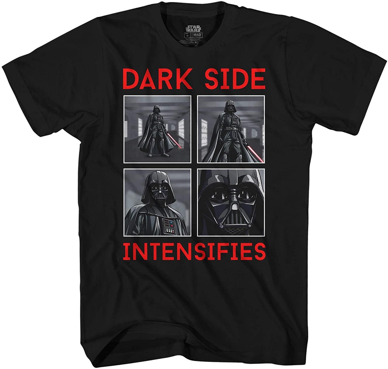 Star Wars Darth Vader Dark Side Intensifies Graphic T-Shirt