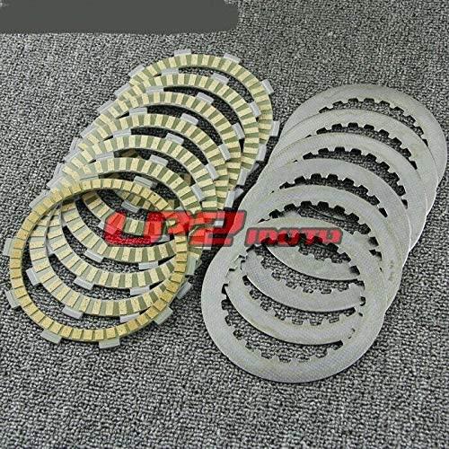 DE.SOUL Clutch Plates Discs for Honda CBF500 04-07 CBR400RR NC29 90-94 CBR650F 14-16