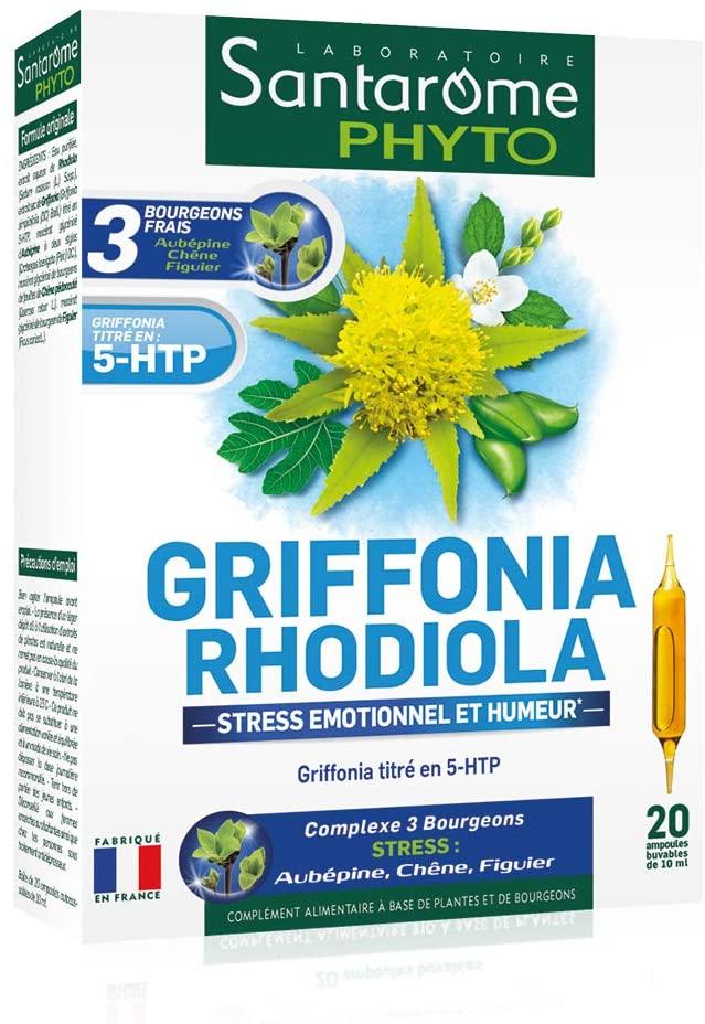 Santarome Griffonia Rhodiola 20 Phials