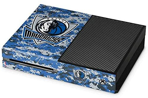Skinit Decal Gaming Skin for Xbox One Console - Officially Licensed NBA Dallas Mavericks Digi Camo Design
