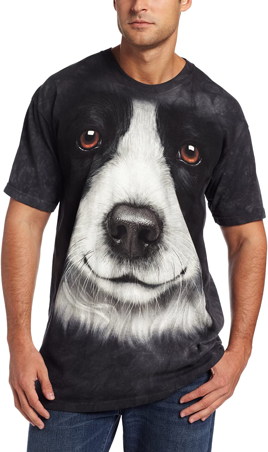 The Mountain Border Collie T-Shirt