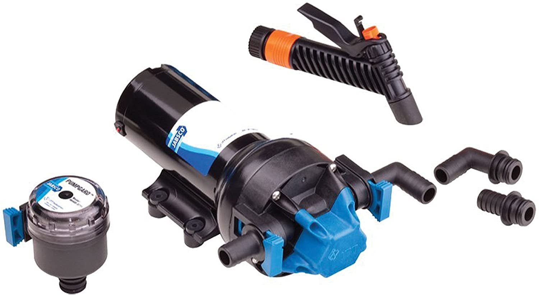 Jabsco 82505-0092 Hot Shot 5.0 5GPH Washdown Pump