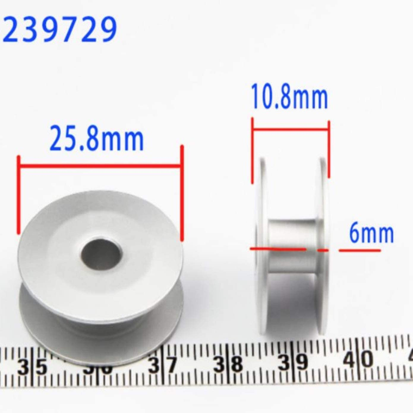 100 PCS BO-239729 BOBBINS Used for GC0302, GC6-5, GC6-7 Sewing Machine and Embroidery Machine