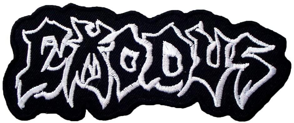EXODUS Band Metal Clothing Logo ME08 Applique iron on Patches