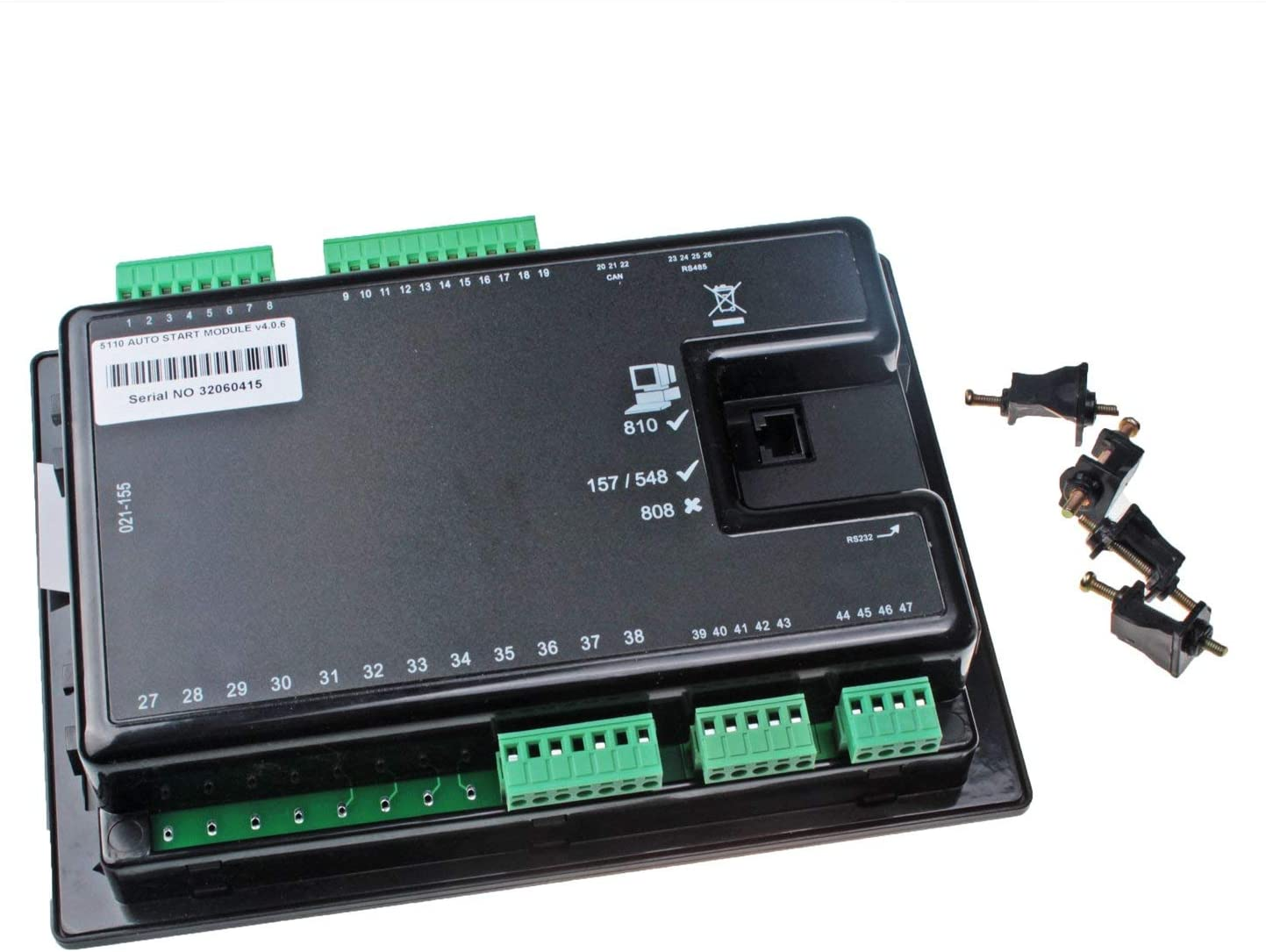 Mover Parts Electronic Controller Control Module DSE5110 for Deep Sea Generator LCD Display
