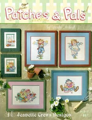 Patches and Pals - Cross Stitch Pattern