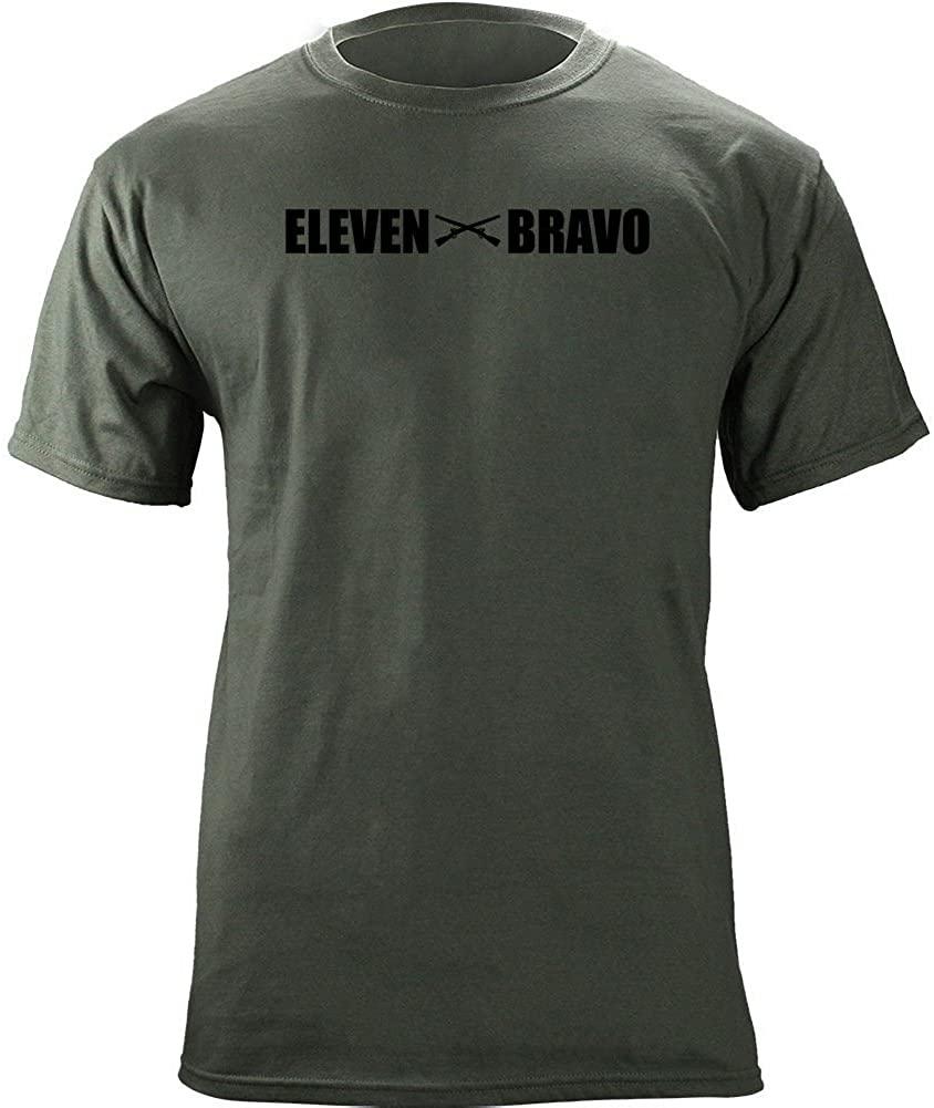 Army MOS 11 Bravo Infantryman 11B Veteran T-Shirt