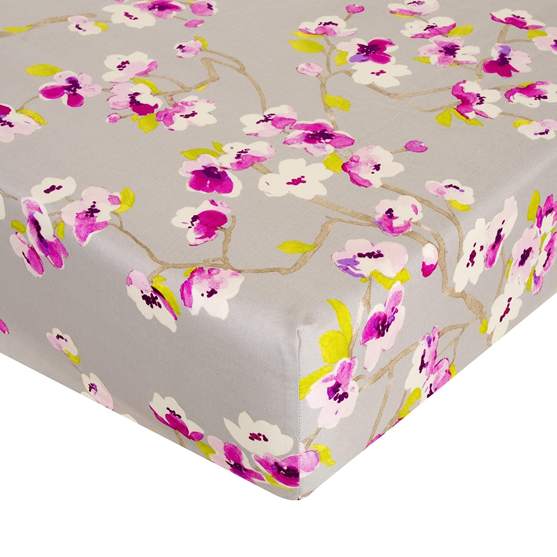 Glenna Jean Bloom Crib Sheet Fitted 28