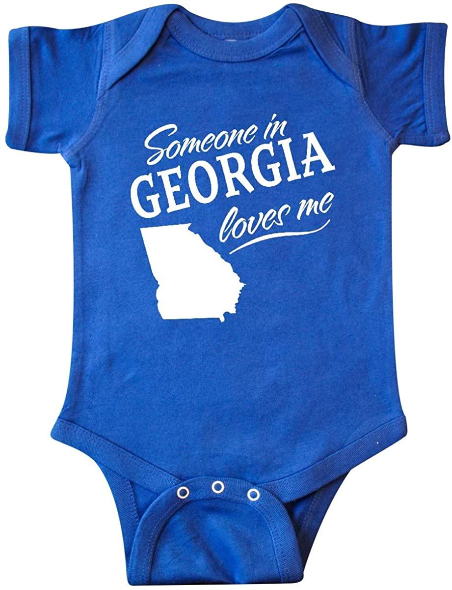 inktastic Someone in Georgia Loves Me Infant Creeper