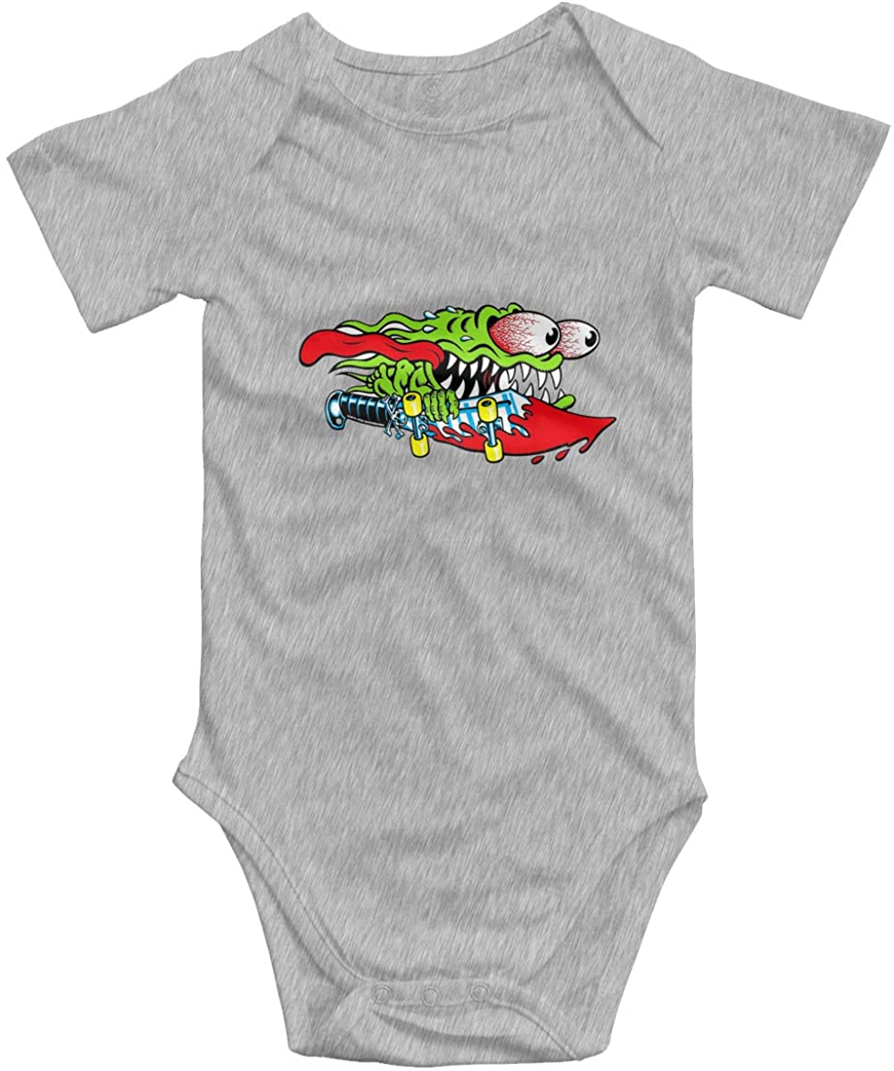 Santa Cruz Screaming Hand Baby Bodysuit Blink Climbing Clothes Gray 18 Months