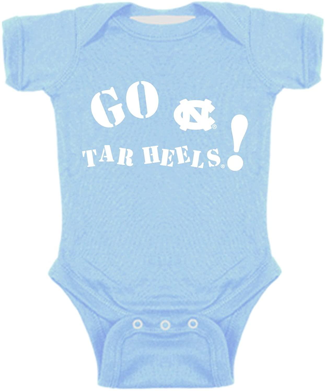 North Carolina Tar Heels Go NCAA College Newborn Infant Baby Creeper