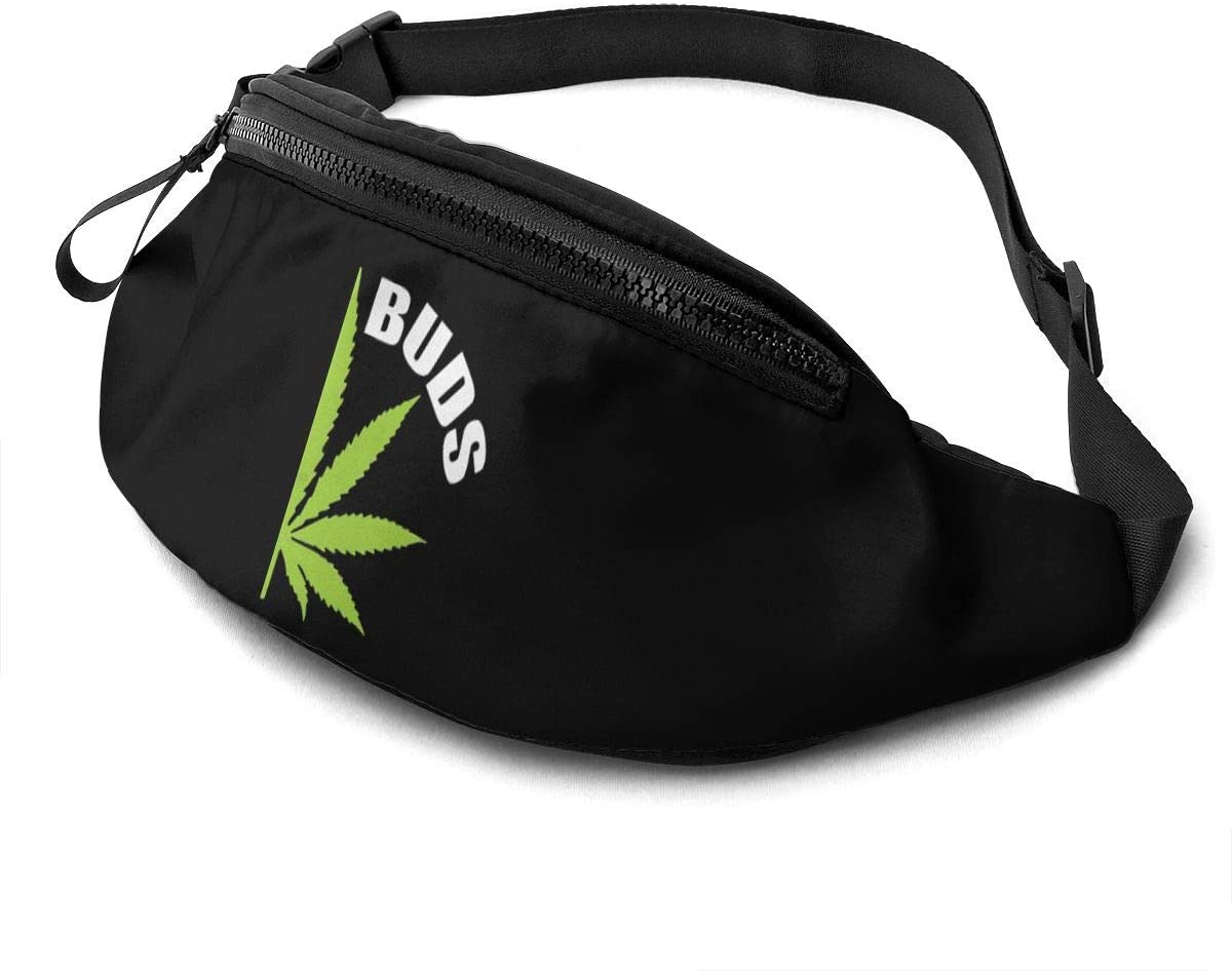 Qwertyi Best Buds-B-Uds Not Limited to Men and Women Running Waist Packs Casual Waist Bag