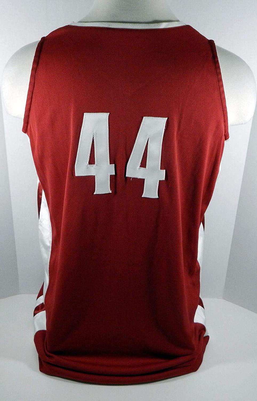 Alabama Crimson Tide #44 Game Used Red Jersey BAMA00016 - College Game Used