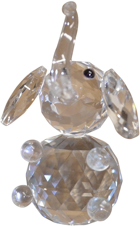 tahoeTshirt Crystal Elephant Figurine