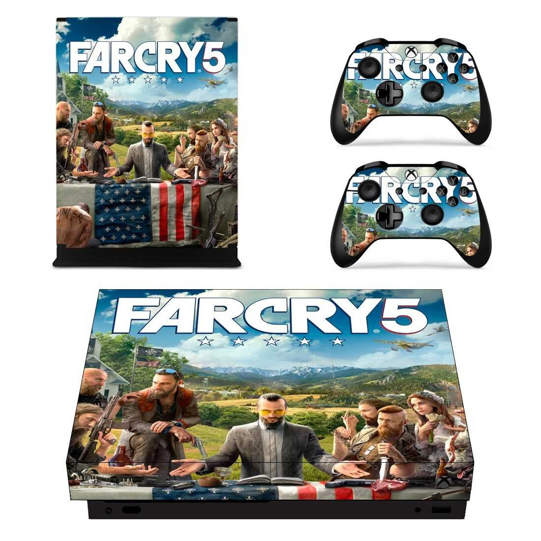 FarCry 5 Decal Vinyl Skin for Xbox One X Edition