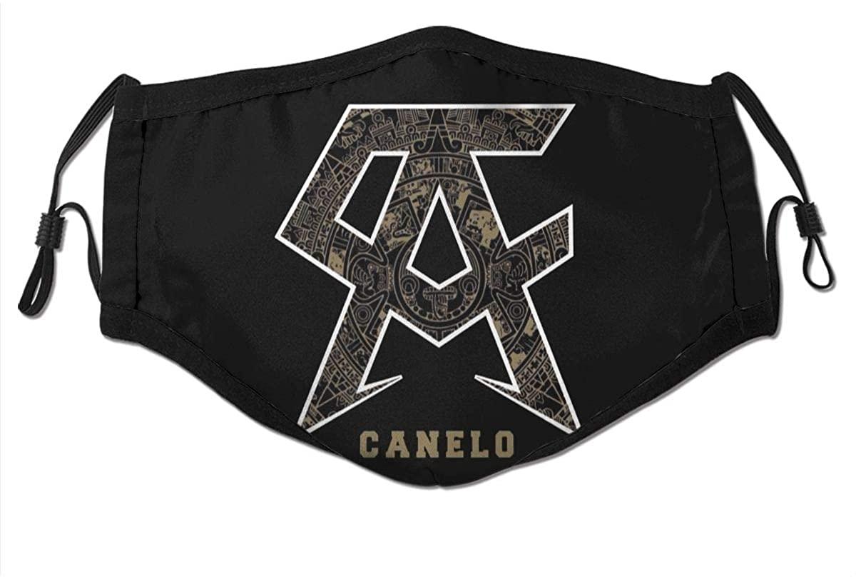 Canelo-Alvarez Logo Turban Scarf Mask Magic Turban Headdress