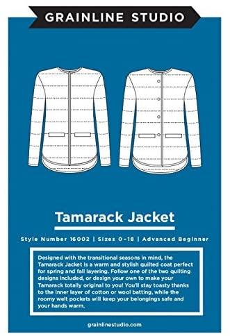 Grainline Studio Ladies Sewing Pattern 16002 Tamarack Jacket