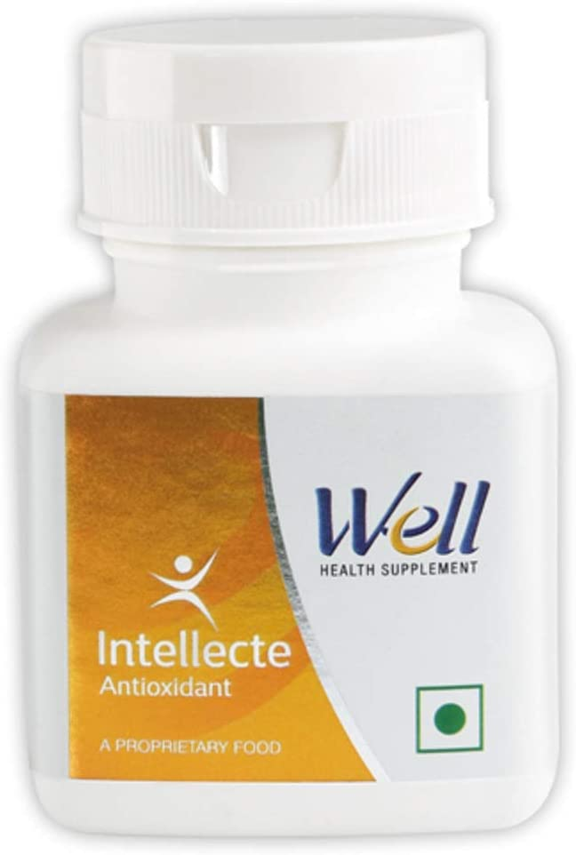 Ayurvedic Intellecte for Healthy Living & Anti-ageing Natural Herbal Tablets Pack of 30