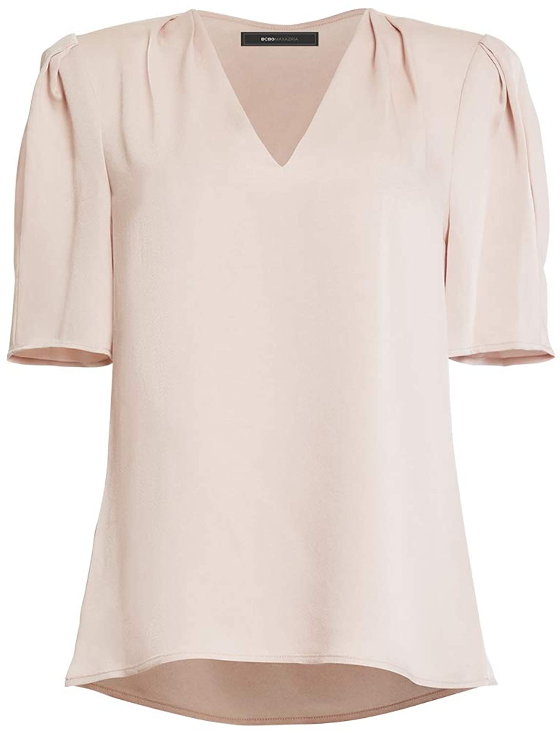BCBGMAXAZRIA Women's V-Neck Blouse