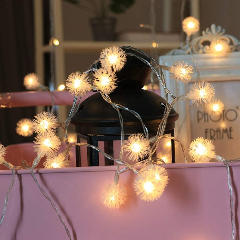 100 LED 33 FT String Lights, AVEKI USB Powered Fairy String Lights Warm Light for Indoor Bedroom Wedding Party Garden Wall Christmas Tree Holiday Decorations (Warm Light)