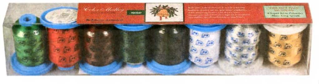 Robison-Anton Holiday Polyester Thread Set