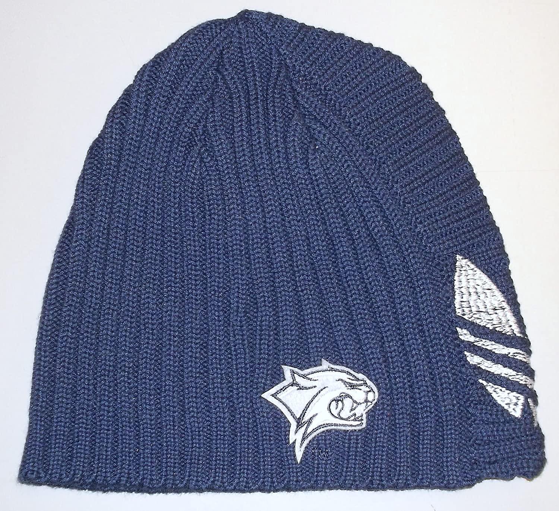 adidas University of New Hampshire Wildcats Cuffless Knit Hat - OSFA - KD75Z