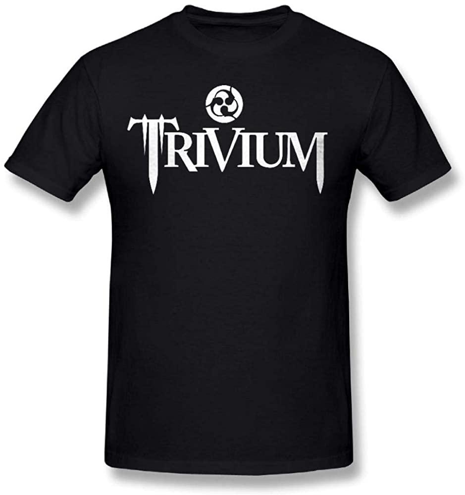 Givmegjvnd Men Trivium Heavy Metal Band T Shirt