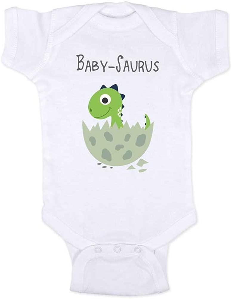 Hello Handmade - Baby-Saurus Fun Dinosaur Baby Bodysuit