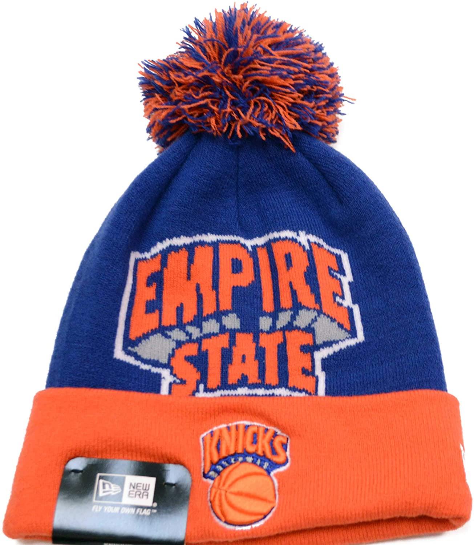 New Era New York Knicks Empire State Nickname Cuff Knit Hat