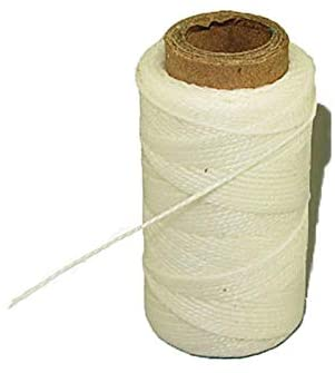 Leathercraft Sewing Awl Waxed Polyester Thread 1 Ounce Spools - White