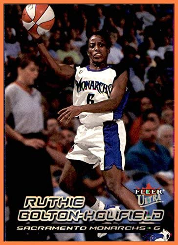 2000 Ultra WNBA #19 Ruthie Bolton-Holifield SACRAMENTO MONARCHS AUBURN TIGERS
