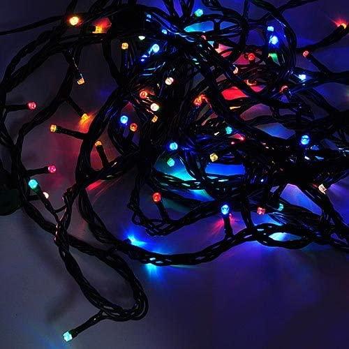 LEDwholesalers Linkable Color-Changing 100-LED Christmas Light String 33 Feet, X084RGB