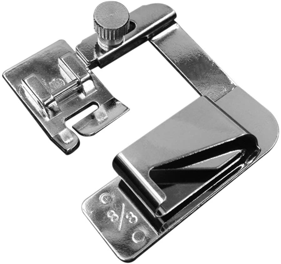 Multifunctional Domestic Hemming Cloth Strip Presser Foot Rolled Hem Foot for Household Sewing Machine 13mm/19mm/25mm