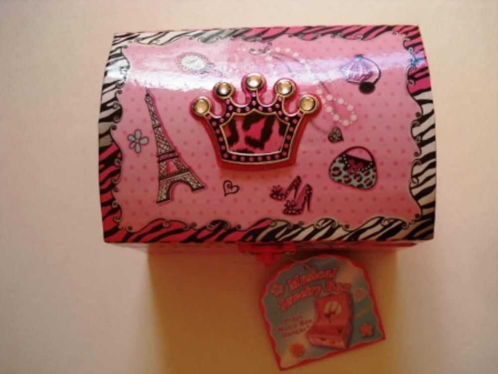 Dome Shape Musical Jewelry Box