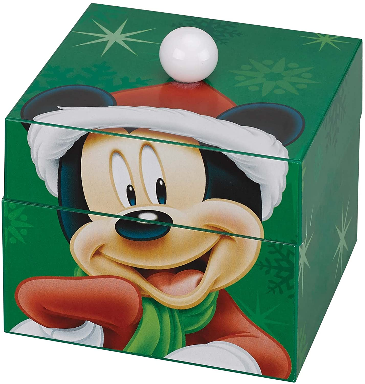 Animated and Musical Pom Pom Music Box-Mickey Mouse