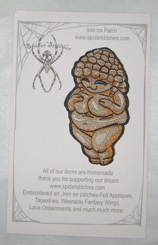 Venus of Willendorf Artifact Fertility Goddess Iron on Patch Applique