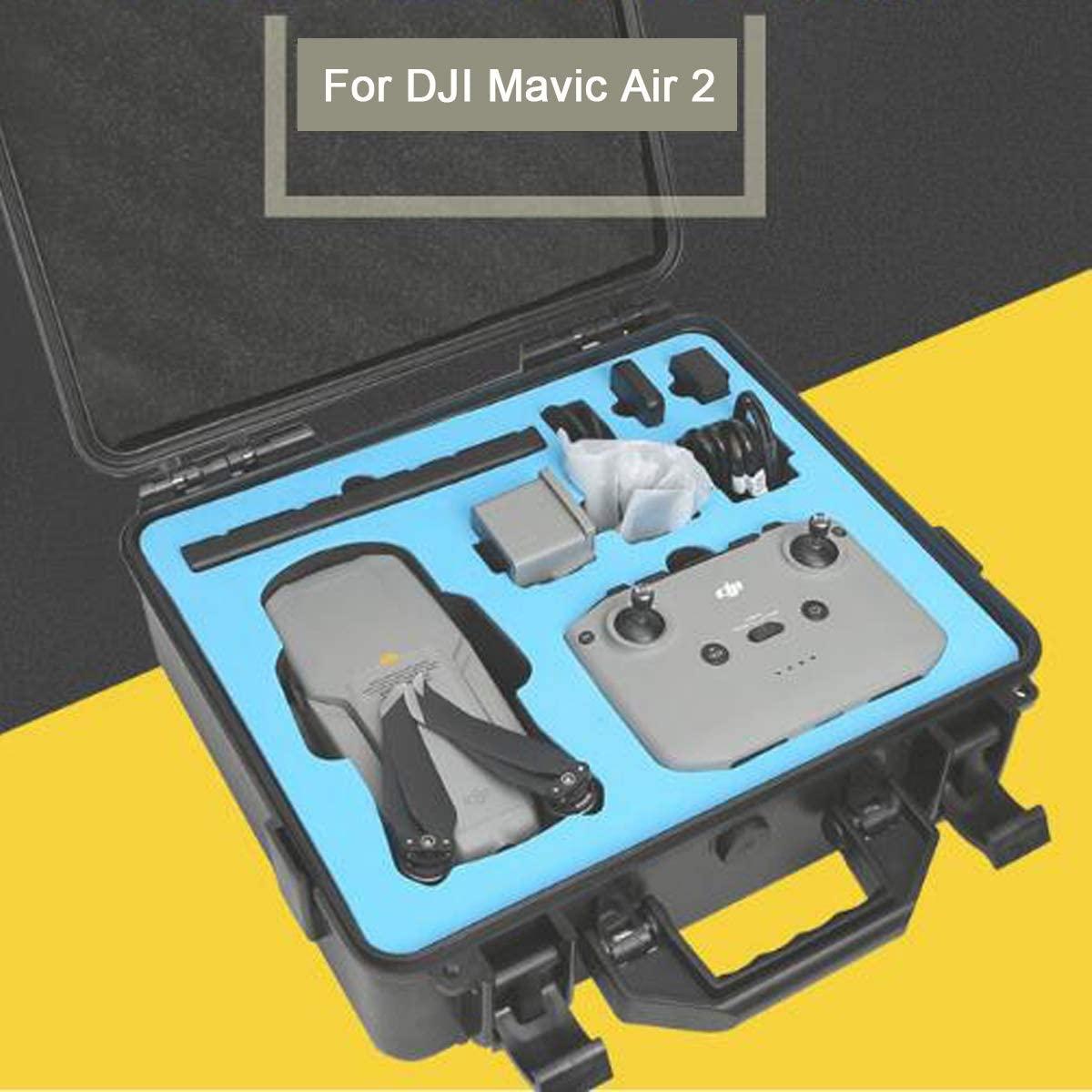 SUNCHI Handheld Travel Box ABS Carrying Bag Hard Storage Case for DJI Mavic Air 2 RC Quadcopter