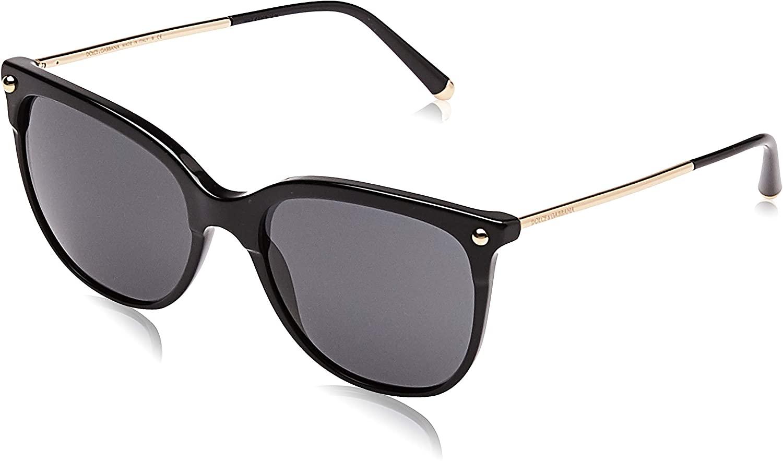 Dolce and Gabbana DG4333 501/87 Black DG4333 Square Sunglasses Lens Category 3