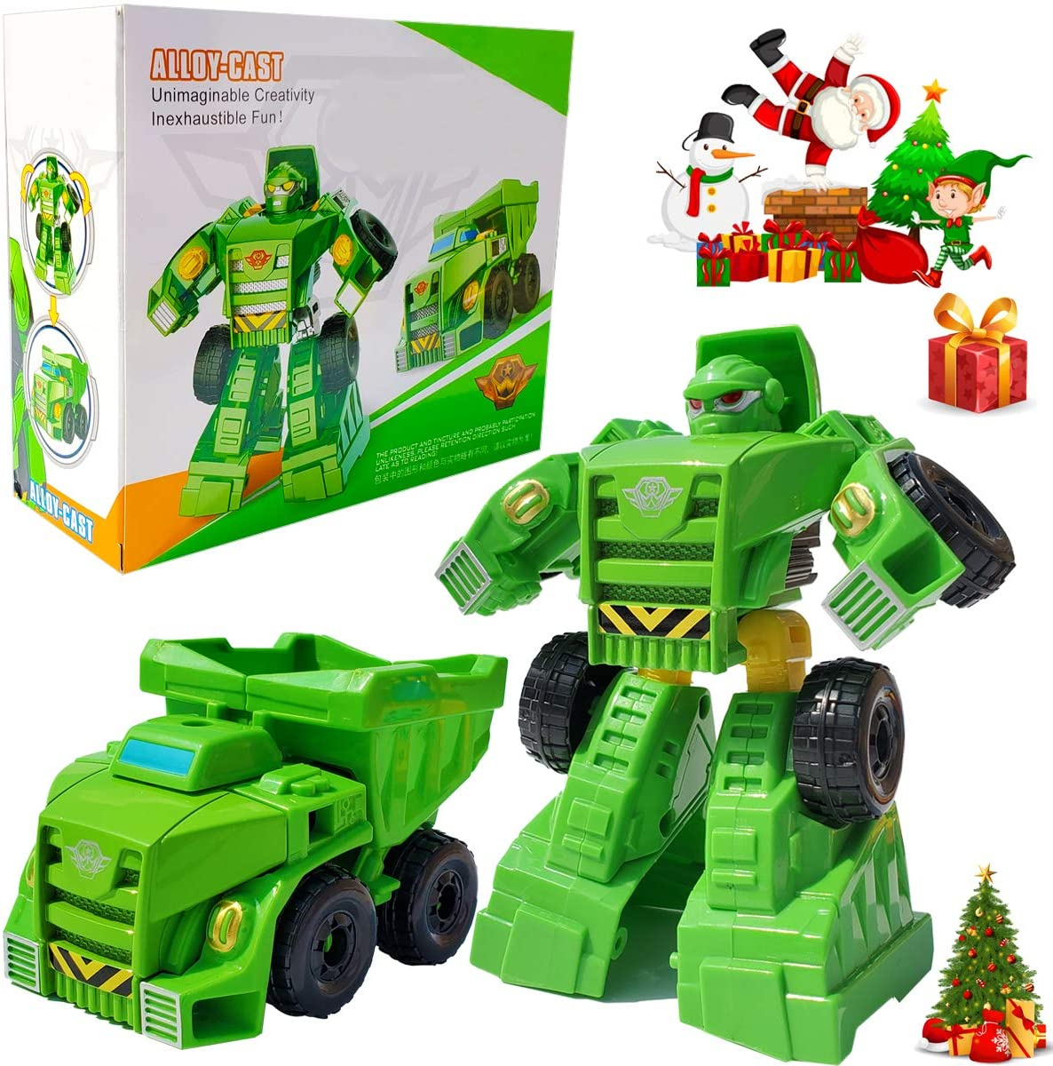 Tonmp One Step Deformation Toy,Heroes Rescue Bots Medix The Doc-Bot Car Robot Model for Boys and Children's Toys (Giant Stone Warrior)