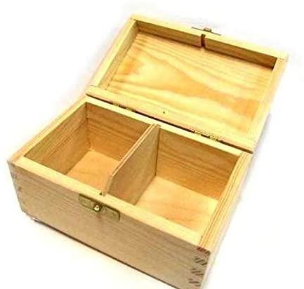 Wooden Tea Box 15x9x7 cm, Decoupage Boxes, Subjects, Hobby Colors