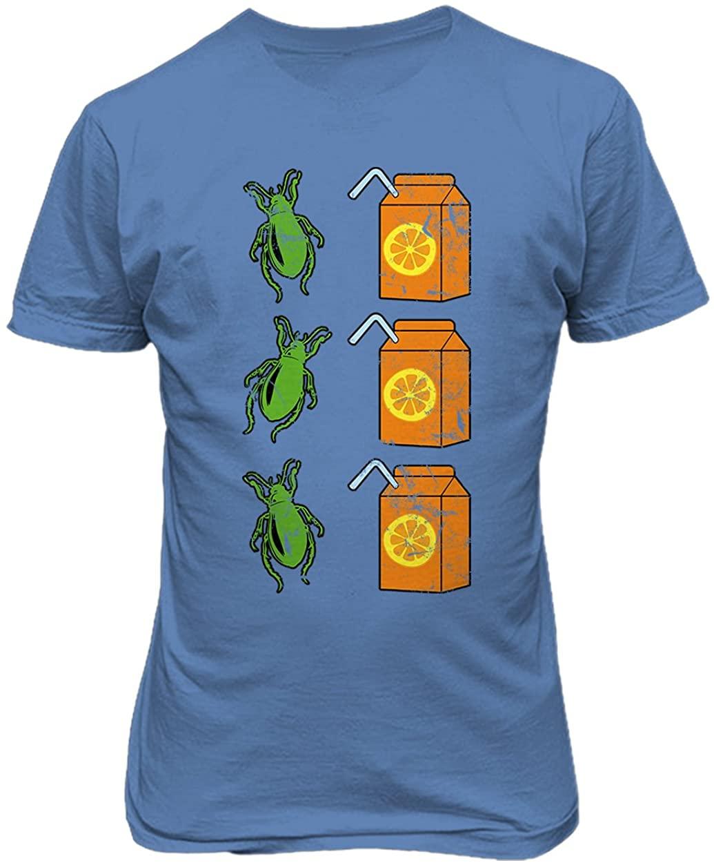 RIVEBELLA New Graphic Shirt Beetle and Juice Novelty Tee Beetlejuice Men's T-Shirt
