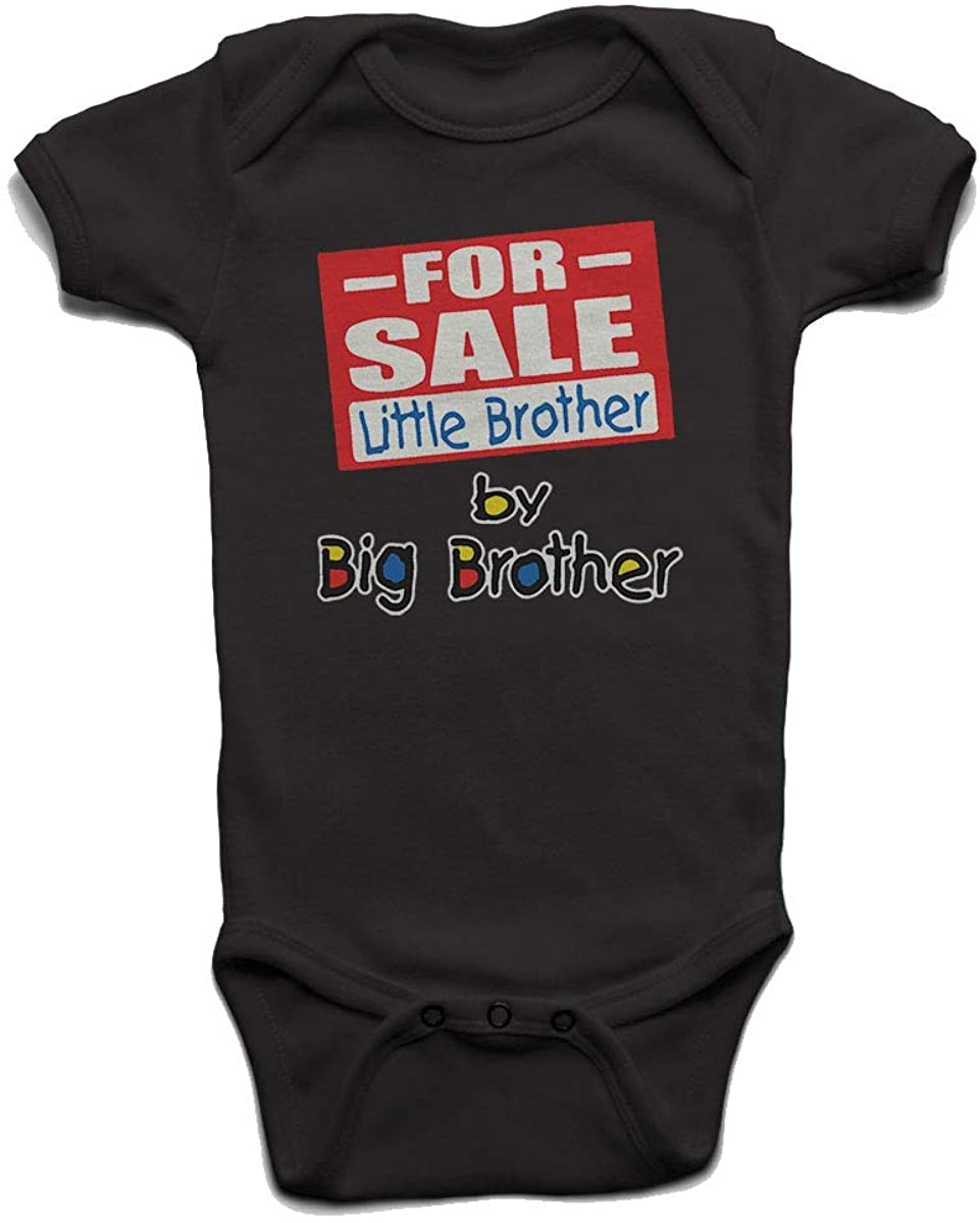 ForSale Little Brother by Big Brother Baby Boys Girls Onesie