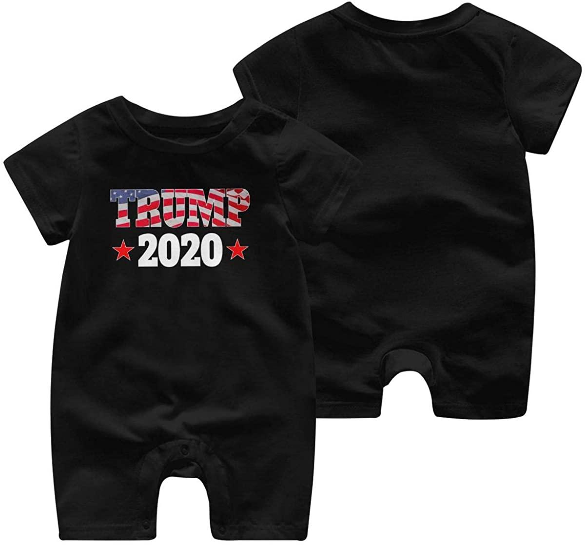NOT Yeezy 2020 Kanye West President Trump Baby Jumpsuit Infant Romper Child 0-2t Bodysuit