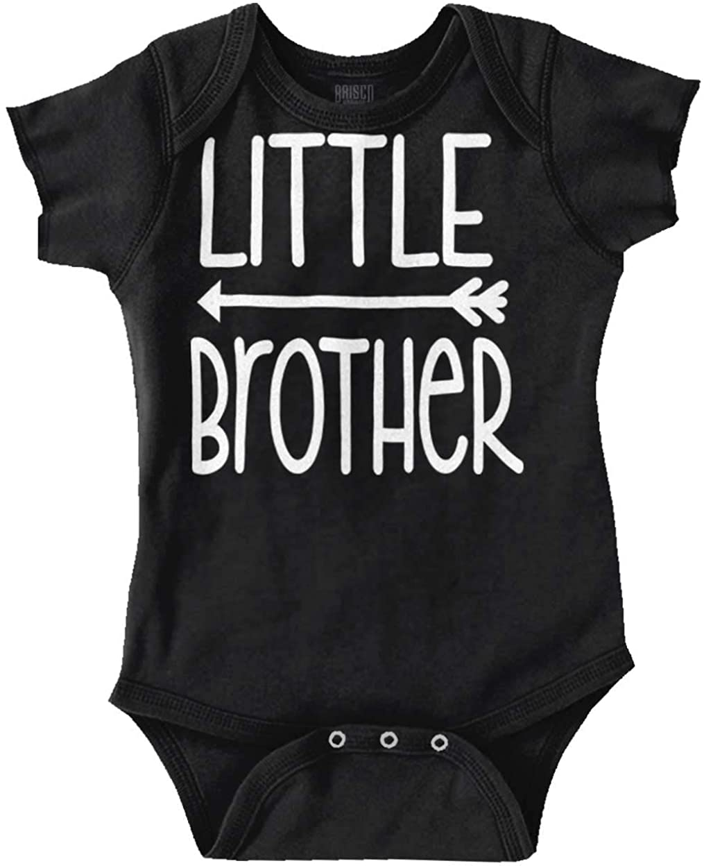 Little Brother Adorable Newborn Sibling Baby Romper Bodysuits