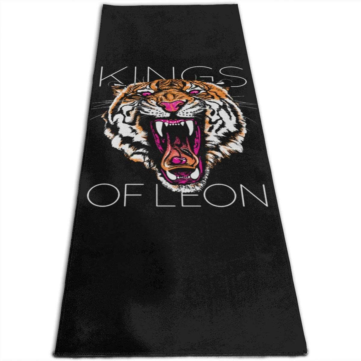 Kings of Leon Yoga Mat Non-Slip Fitness Pad Workout Exercise Gym Pad Pilates Accessory Tool