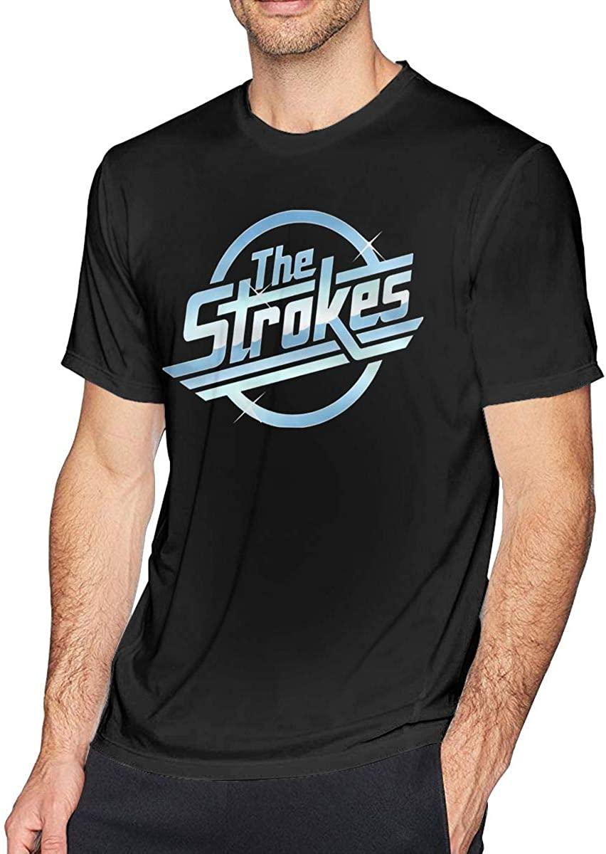 The Strokes Rock Band Logo Mens T Shirts
